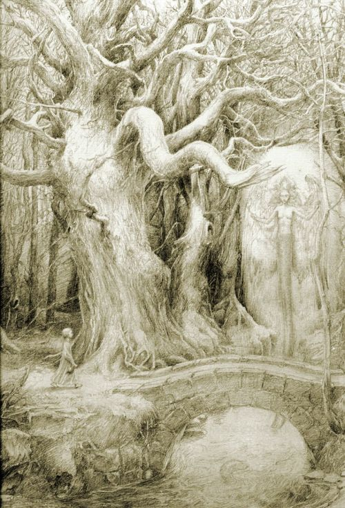 mllemia:  missfolly:A Walk in the Woods, by Alan Lee