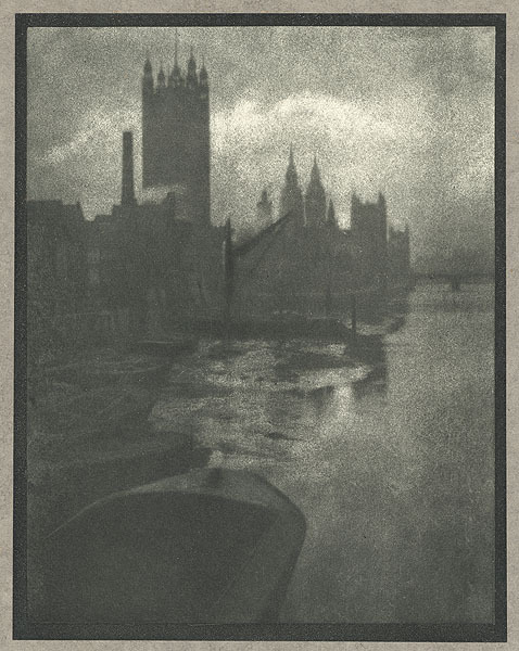 Houses of Parliament Coburn, Alvin Langdon, b.1882-1966 London, 				1910 17 x 22.6 cm Photogravure