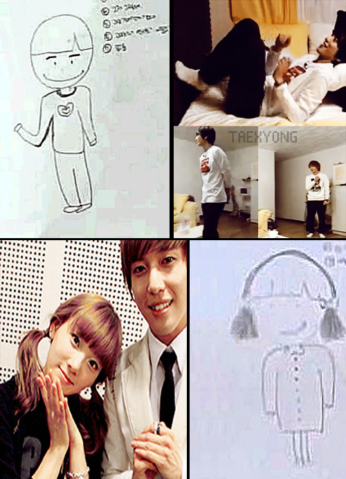 I SEE NO DIFFERENCE. Nuffsaid.  Taeyeon's ideal type; (Dangerous boys Ep. 3 P1)~