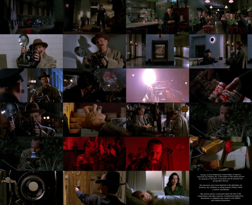 Screen shots mostly of Joe Pesci in 'The Public Eye,' a 1992 movie loosely based off of real life photographer Arthur Felig (Weegee.)  However, the dramatic story is purely fiction.  It took me a long time to find a copy of this movie.   It's very visually pleasing.