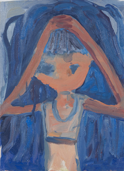 Makiko KudoTriangle, 2011oil on canvas33.5 x 24.0cm VIA MORE
