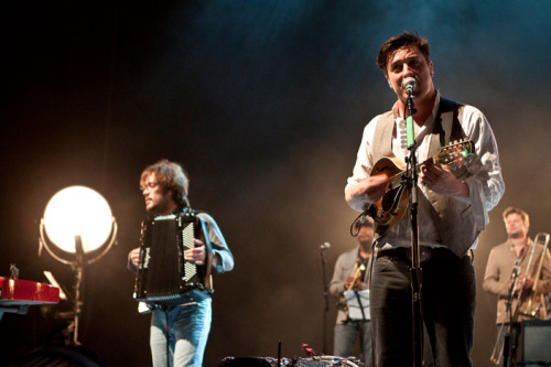 Mumford and Sons at the Santa Barbara Bowl 2010.