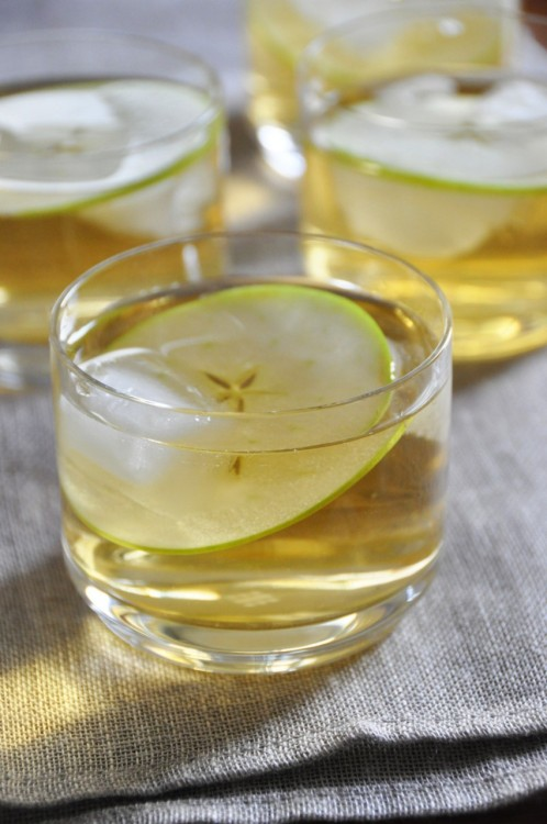 Liquid Apple Pie Cocktail