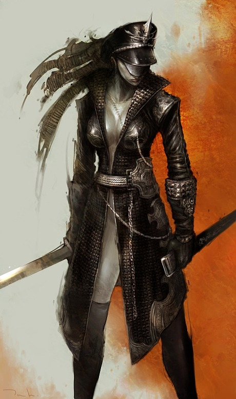 sword woman by tahra on deviantart