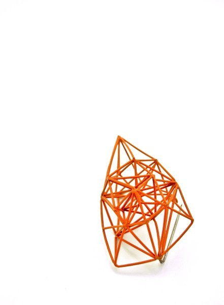 pure-and-honest:  Arthur Hash - Orange Brooch