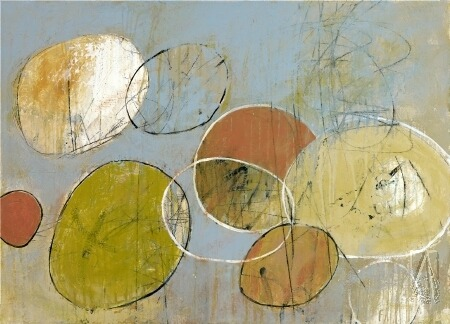 "dailyartjournal:  Christopher Balder, ""Circle Series 10"""
