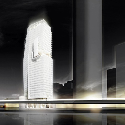 Mitikah Office Tower / Richard Meier & Partners / 2012