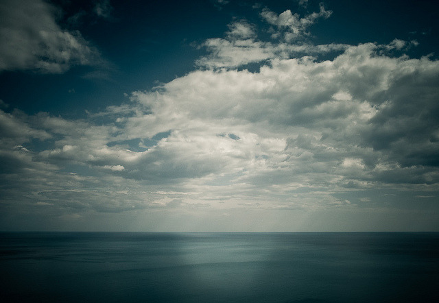 endless on Flickr.cilento italy_great view and stunning clouds