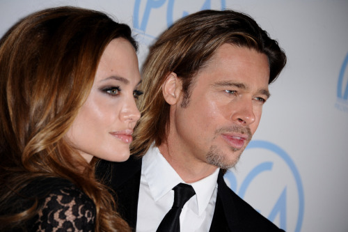 Angelina Jolie & Brad Pitt @ 23rd Annual Producers Guild Awards in Beverly Hills - January 21, 2012.