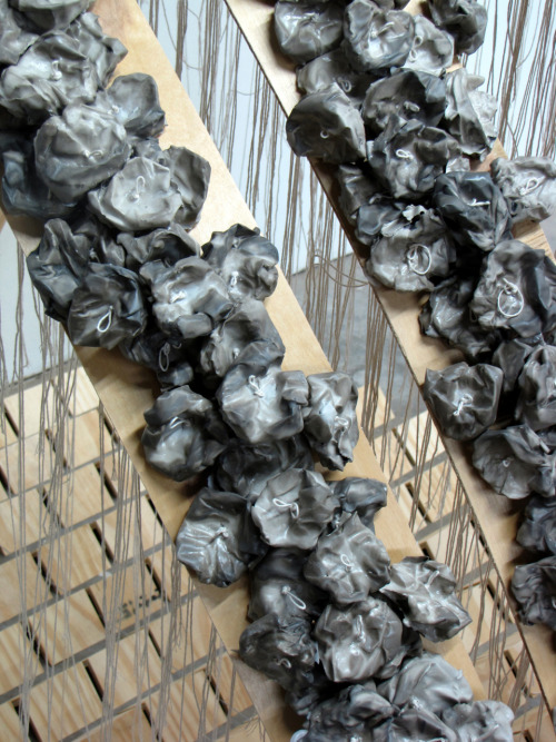 "Marianne McGrath: ""Maybe we can grow something on top of it all…"" (detail), 2010"