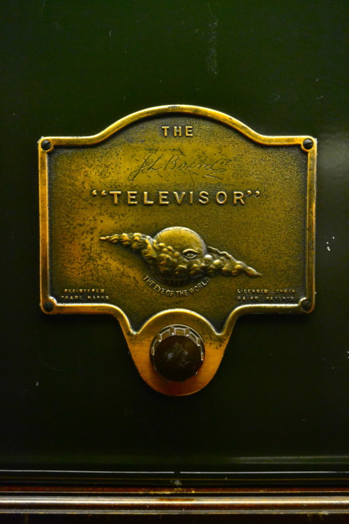 the televisor (first television), secret life of the home exhibit, science museum, london, 2011 nikon D3100 copyright Jack Oliver, 2012