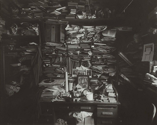 kateoplis:  Labyrinth in my Atelier, 1960, by Josef Sudek, bookbinder turned photographer after losing an arm in WWl