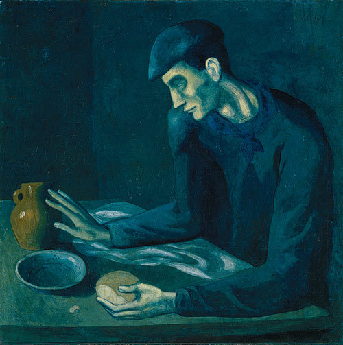 The Blind Man's Meal, 1903 -Pablo Picasso