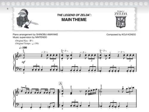 Official Mario and Zelda songbooks now available in English