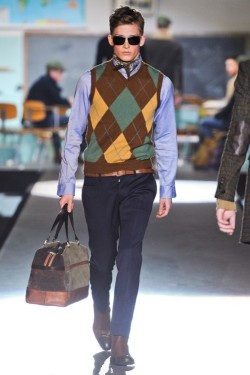 Pavel Baranov (Select) for Dsquared AW 12.