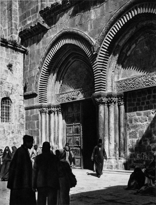 Church of the Holy Sepulchre, Jerusalem, 1920s