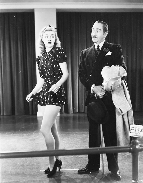 ruebyretro:  Ginger Rogers and ….?