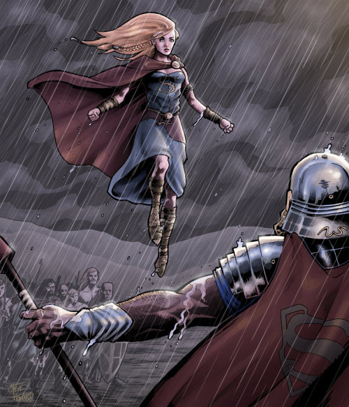 squishyapocalypse:  Celtic Supergirl CSBG by ~stejam13