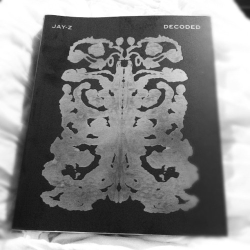current read! #jayz #decoded #oneofakind #goodread #book  (Taken with instagram)