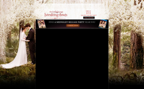 How come no one has tweeted about this new Breaking Dawn wedding still? sopretty.