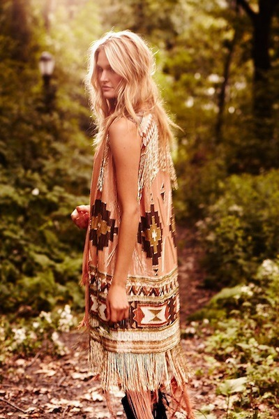 fringe on.. the romance via [HAUTE HIPPIE brand campaign | spring 2012]