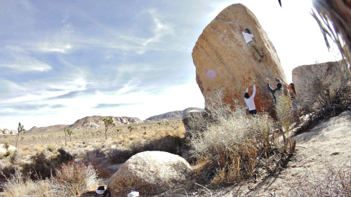 ruelontherocks:  White Rastafarian (V3R) ProjectJoshua Tree National Park, CA  Someday, old friend.