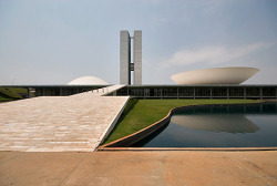 Buildings in Brazilia by Oscar Niemeyer