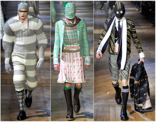 First Look: Thom Browne Fall 2012 See the full Thom Browne Fall 2012 men's collection from Paris right now at GQ.com.