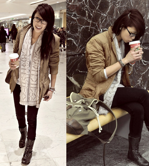 She's like cold coffee in the morning .. (by Tu-Ann Dao)