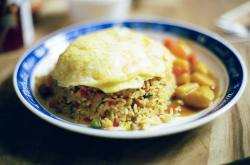 Mom's omurice.