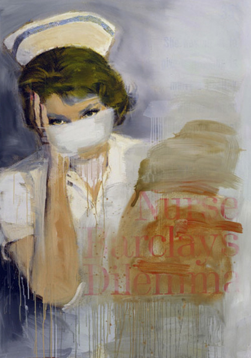 Richard PrinceFirst and foremost Richard Prince's nurse paintings are commonly recognised on Sonic Youth's 2004 album Sonic Nurse. Four years later, Prince's paintings were the inspiration for Louis Vuitton's Spring/Summer 2008 collection of monogram handbags and theme of the show.
