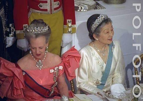 Queen Margrethe II and Empress Michiko LSK: Both are my favorite queens :)