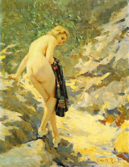 The Bather, Robert Lewis Reid