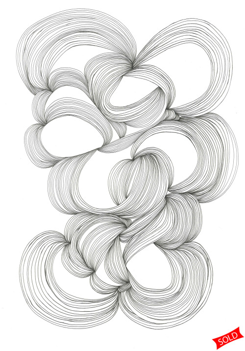 "January 27, 2012 (Finite)15""x11""ink on paper SOLD!  (benefiting The Schoerke Foundation)"