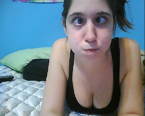 I'm so bored. and I have a huge zit.