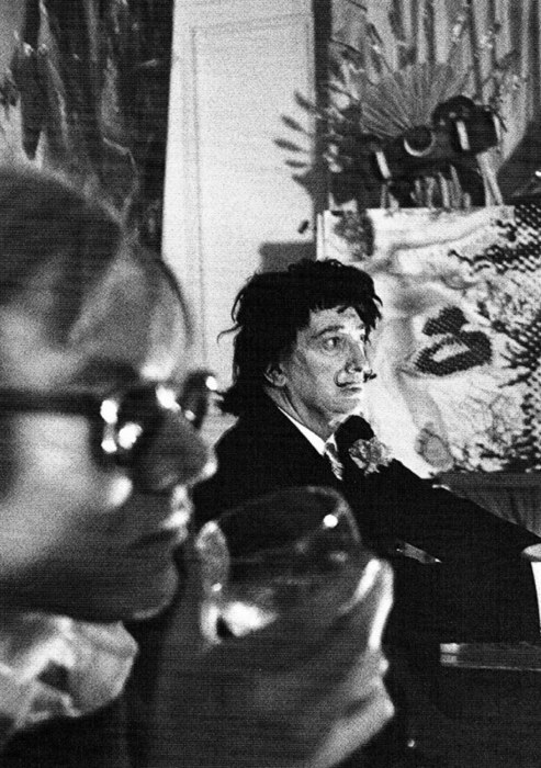 paranoiacdali:  Salvador with Andy Warhol.