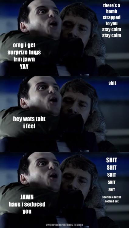 FACT: Moriarty can seduce anyone.
