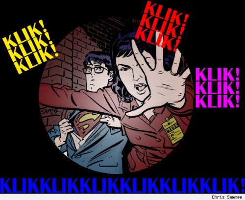 @chrissamnee - Lois and Clark(colored by me)
