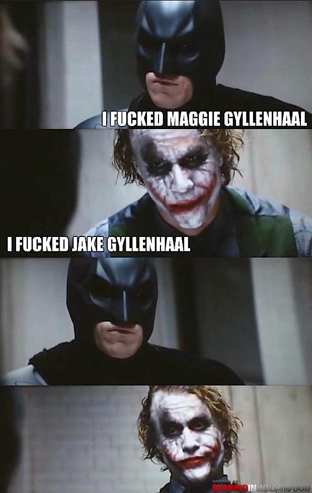 Batman VS The Joker