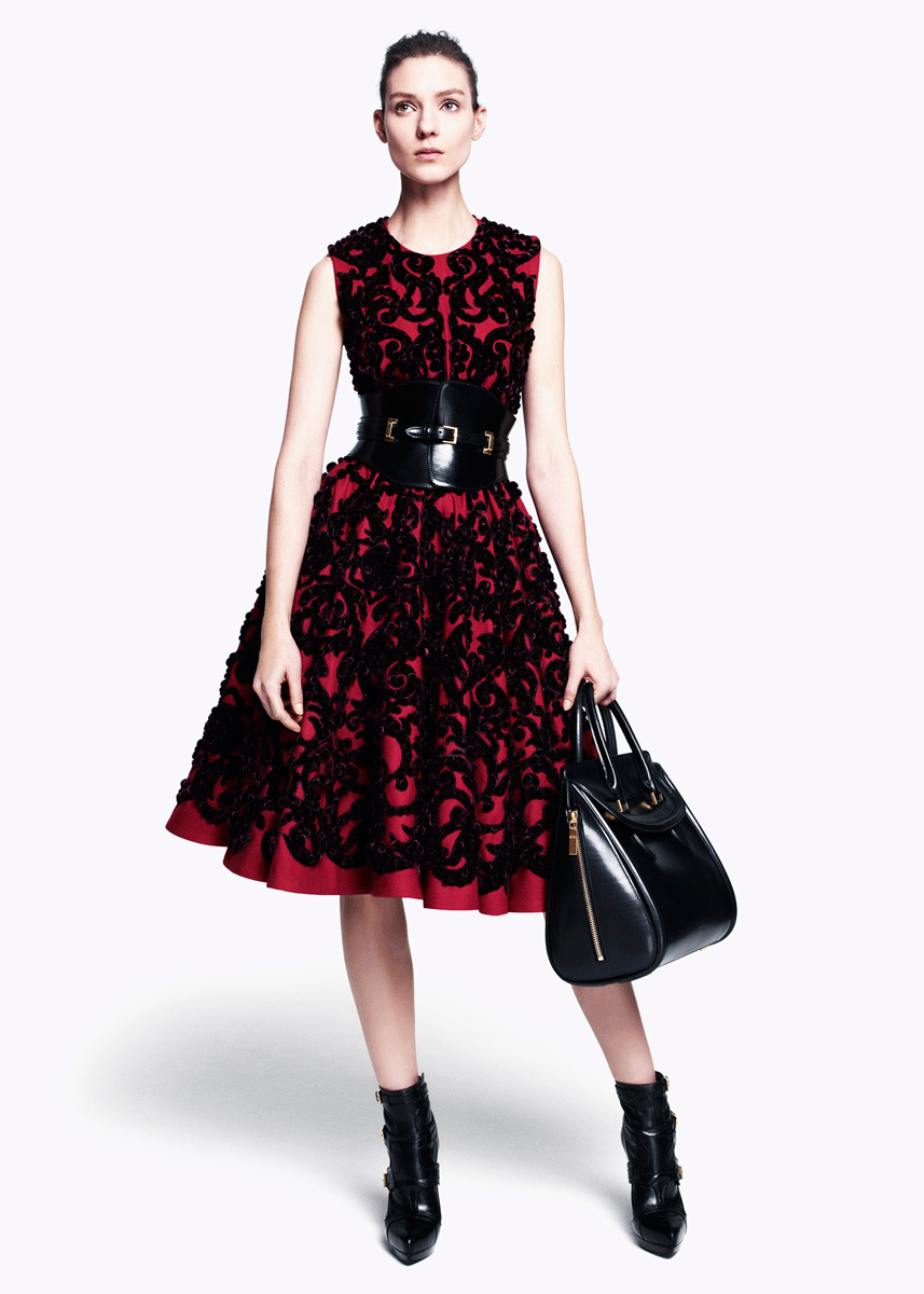 Dress Envy: Sarah Burton for Alexander McQueen Pre-Fall 2012
