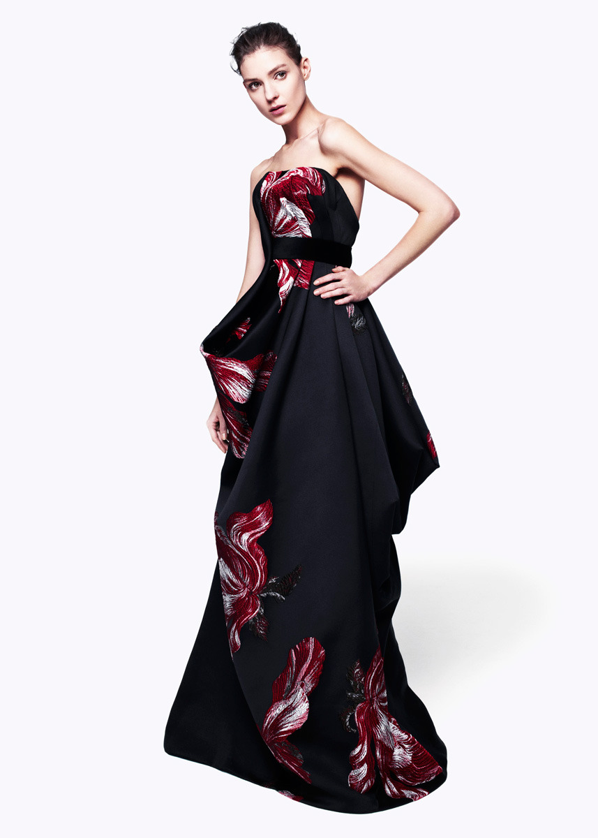 Dress Envy: Sarah Burton for Alexander McQueen pre-fall 2012  More Ruffled/Parrot tulips!!!! too exciting.