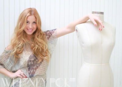 "Meet Our 'Little White Wardrobe' Design Competition Judge…  WHITNEY PORT Whitney Port is not just another pretty face in Hollywood. She is paving her own way as a designer, TV host and author, and making sure that she builds a solid foundation that she is proud of.  Whitney began her career on the MTV reality-hit show, ""The Hills,"" appearing as intern at Teen Vogue Magazine, as well as Lauren Conrad's co-worker and confidant. By Season 4 she was a show regular and an audience favorite. In December 2008 Whitney's own spin-off, ""The City"" launched on MTV. She moved across the country and the cameras followed as she began working for fashion icon Diane Von Furstenberg and in later seasons for People's Revolution's Kelly Cutrone. During that time she also launched her own fashion line, Whitney Eve. Whitney Eve, which had its first runway show with Gen Art during Fashion Week 2009 showcases Whitney's creativity and knack for style. Its sophisticated yet comfortable cocktail attire, featuring feminine dresses, tops, skirts, sweaters and jackets. Whitney Eve can be found online and in various high-end boutiques. It has also expanded overseas where Whitney has a large fan base. Whitney will be debuting her first runway show for Whitney Eve during New York Fashion week on Feb 15, 2012. In 2010 Whitney released her first book, ""True Whit"" for Harper Collins. The book is now being sold overseas and in the US. Whitney currently resides in Los Angeles and is attending Gen Art's New Garde show as a spokesperson for Crest 3D White."