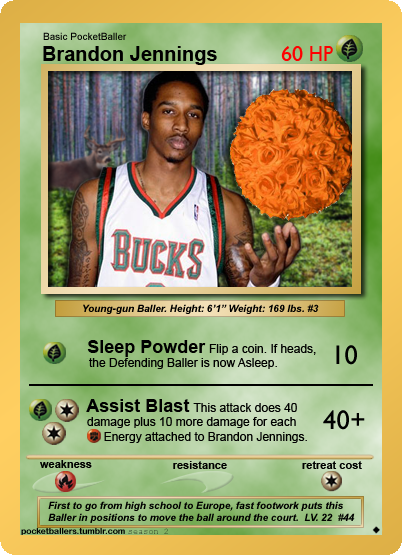 10 Point Buck - Brandon Jennings