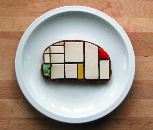 cookthechef:  Mondrian Sandwich by Brittany Powell