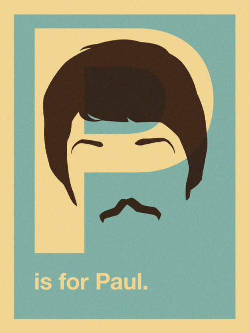 helvetiface:  P is for Paul