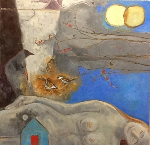 Work in process, oil on canvas, 22jan2012 susan copas