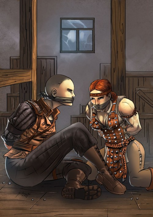 enuvrack:  Do you know what I like about Aveline?  The fact that she's a woman fighter who actually has beleivable muscle mass for someone who carries a full suit of armor and weapons and beats the shit out of monsters.  You can't have skinny minnies and have me believe that she can beat large brutes like cardboard.
