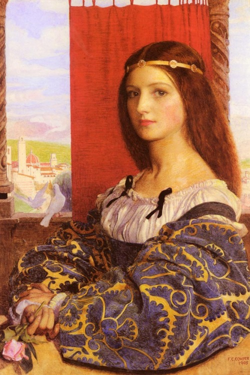 Frank Cadogan Cowper - Molly, Duchess of Nona (1905)