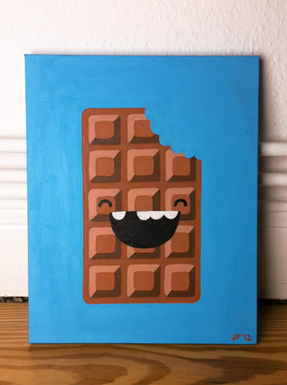 a painting i made for chocolate-loving-ell's birthday