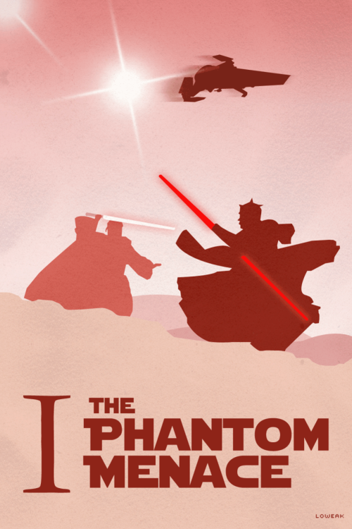Today, The Phantom Menace Poster !